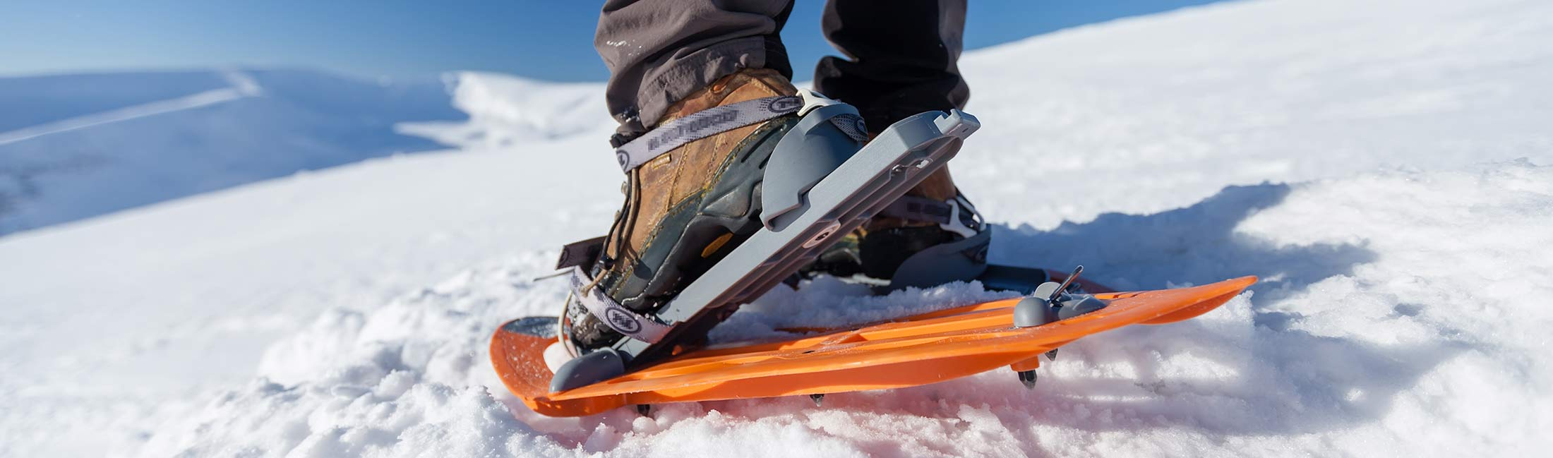 Take A Trek Through The Hills In Snowshoes